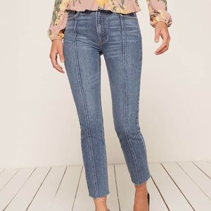 Reformation seamed Jean in Baltic wash